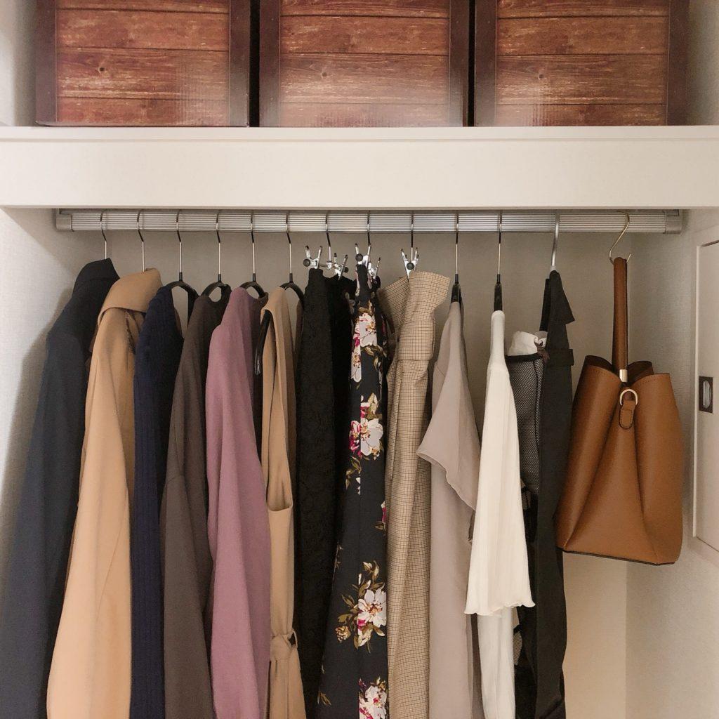 20代OLミニマリストのアウター全4着。コートは何着用意すればいい?