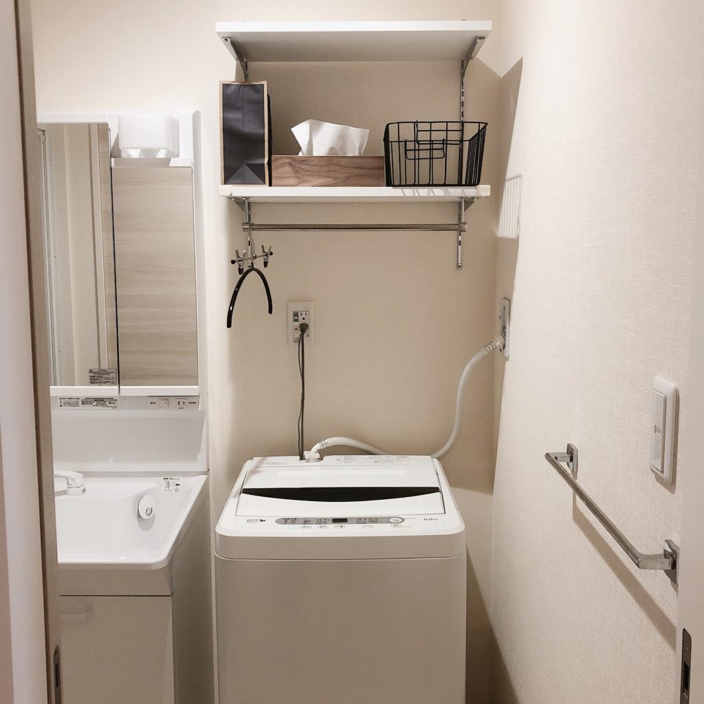 一人暮らしの洗濯事情。大物は小分けにして労力を最小限に